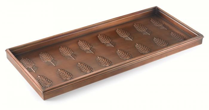 Good Directions Pine Cones Boot Tray, Venetian Bronze + FRT