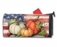 Magnet Works Patriotic Pumpkins Mailwrap