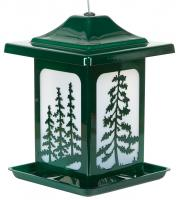 Homestead The Woodland Pines Jolly Pop Green Bird Feeder