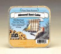 Pine Tree Farms 12 Ounce Almond Suet Cake