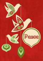 Tree Free Greetings Peace This Season Christmas