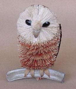 Brushart Owl On Branch