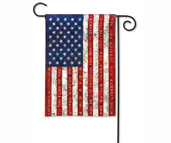 Magnet Works Pledge of Allegiance Garden Flag