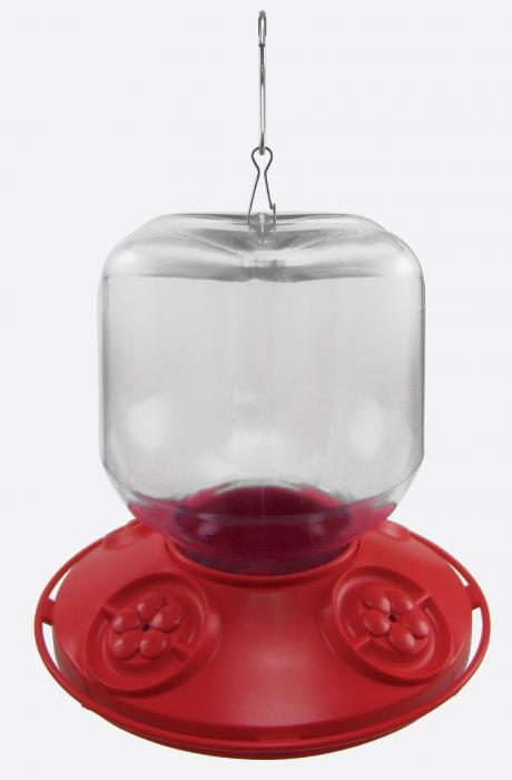 Songbird Essentials Dr. JB Switchable 32 Ounce Hummingbird Bird Feeder