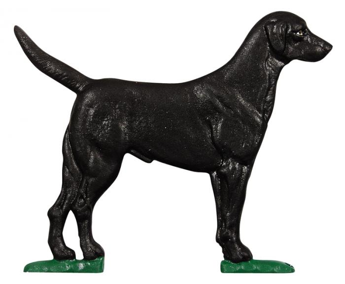 "30"" Black Lab Weathervane - Garden Color"