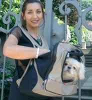 PetEgo XPack Front Carrier/Backpack for Pets, Beige