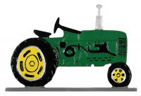 "30"" Tractor Weathervane - Garden Color"