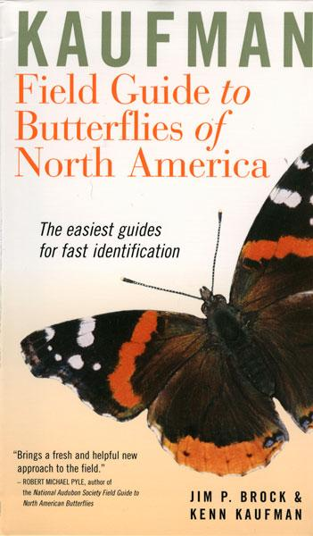 Peterson Books Kaufman Field Guide to Butterflies of North America