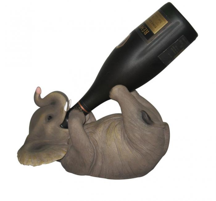 DWK Elephant Wine Holder