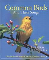 Peterson Books Common Birds & Their Songs CD