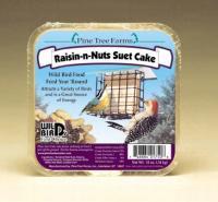 Pine Tree Farms 12 Ounce Raisin-N-Nut Suet Cake