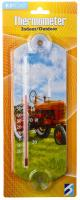 Headwind Red Tractor Window Thermometer