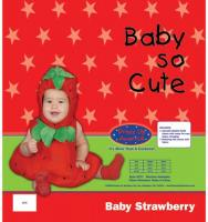 Dress Up America Baby Strawberry - 0-6m