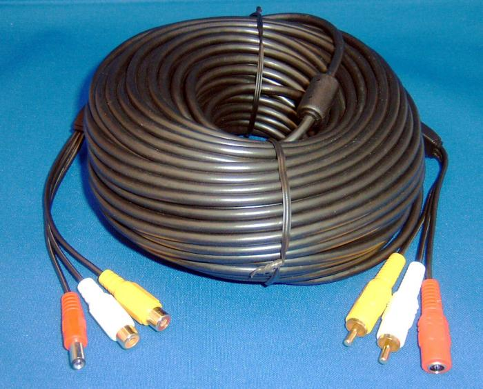 Birdhouse Spy Cam Hawk Eye 75' Extension Cable