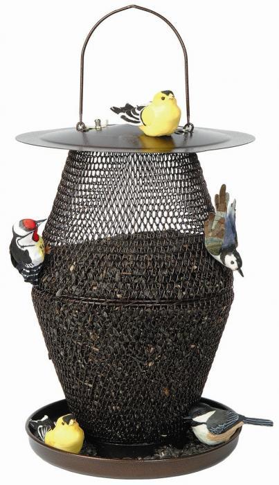 No-No Bronze Lantern Bird Feeder