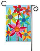Magnet Works Pinwheels Garden Flag