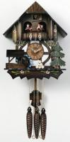"River City 12"" Moving Waterwheel, Tree Cuckoo Clock"