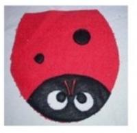 Ladybug Bath Puppet
