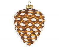 Cobane Studio Brown Pinecone Ornament