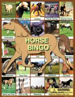 Lucy Hammett Horse Bingo
