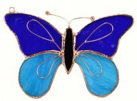 Gift Essentials Dark & Light Blue Butterfly Sun Catcher