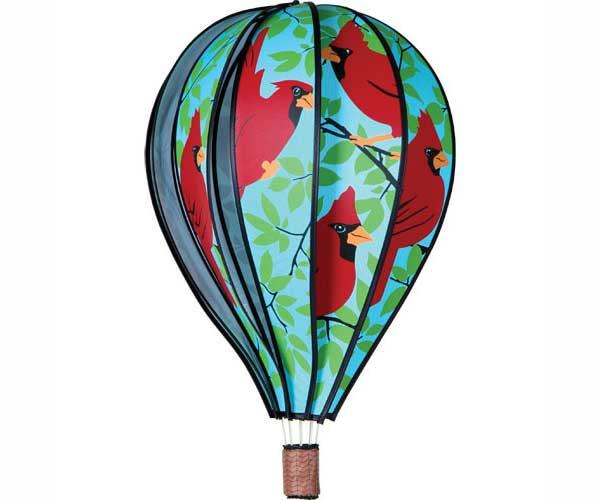 Premier Designs Hot Air Balloon Cardinals 22 inch