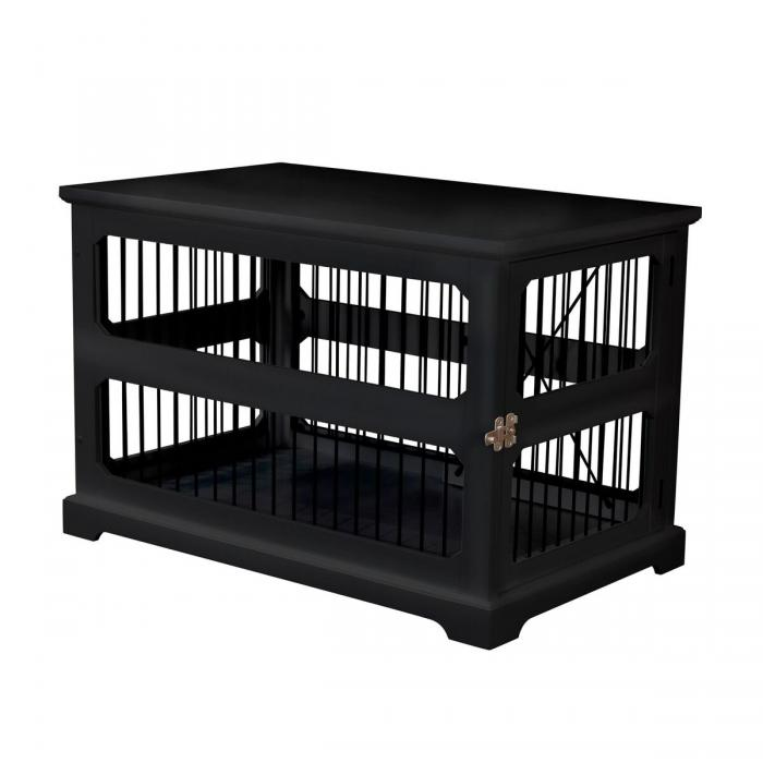 Slide Aside Crate And End Table, Black