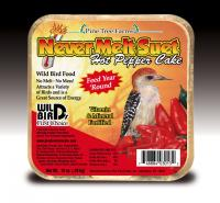 Pine Tree Farms Never Melt Suet Hot Pepper 12 oz
