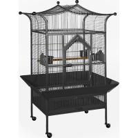 Medium Royalty Bird Cage - Black