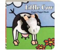 Chronicle Books Little Cow Finger Puppet Book