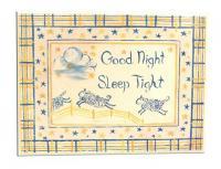 Room Plaque With Ribbon- Good Night Sleep Tight