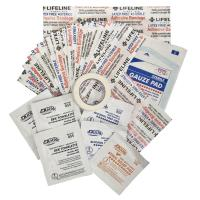 Lifeline Weather Resistant First Aid Kit 28 Pieces