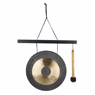 Woodstock Chimes Hanging Chau Gong - Medium