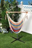 Bliss Hammocks Tahiti Cotton Rope Hammock Chair - Multi Color