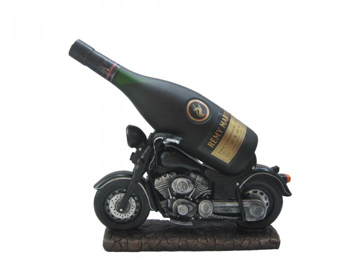 DWK Black Moto Wine Holder