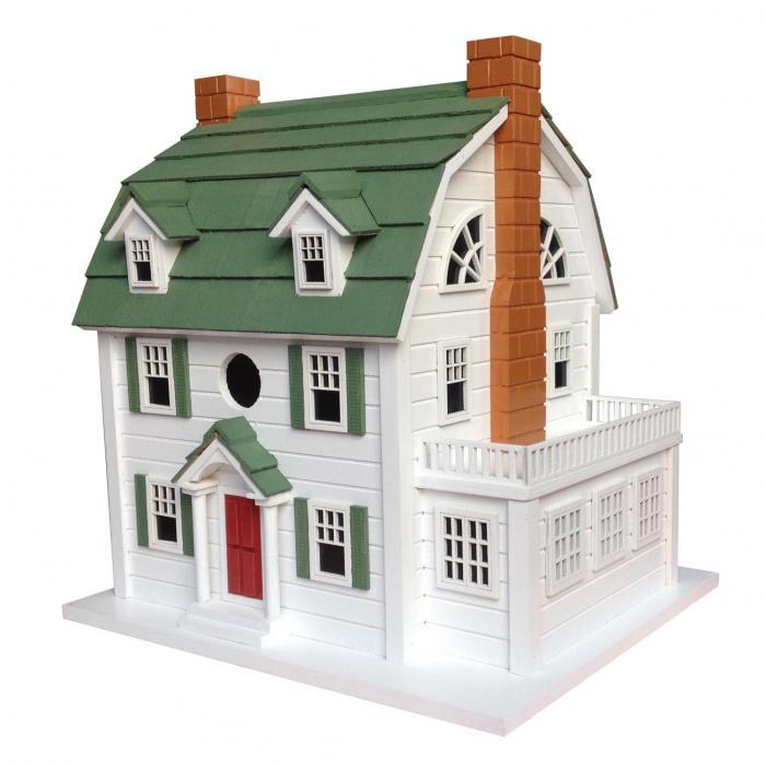 Home Bazaar Dutch Colonial Birdhouse (aka Amityville Horror House)
