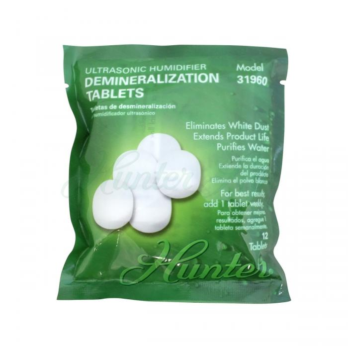 Hunter Home Comfort (31960) Ultrasonic Humidifier Demineralization Tablets 12pk