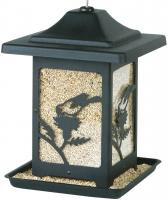Homestead Seed Bird Feeder, Black