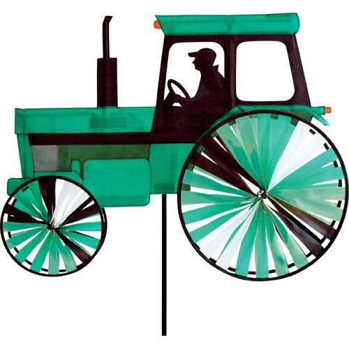 Premier designs modern tractor green spinner for Garden spinners premier designs