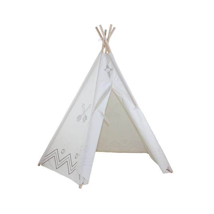 "Dexton ""6ft Hideaway Color-My-Own Five Panel Tepee"""