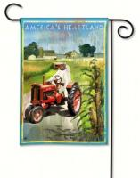 Magnet Works Heartland Garden Flag