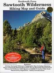Earthwalk Press Sawtooth Wilderness Hk Map Gd