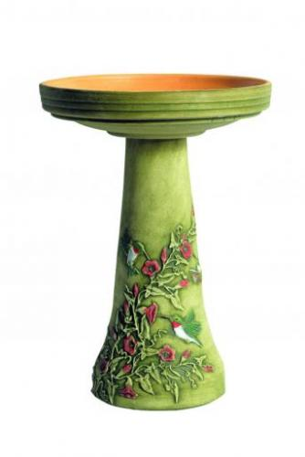 Bird's Choice Hummingbird Bird Bath Set