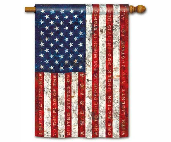 Magnet Works Pledge of Allegiance Standard Flag