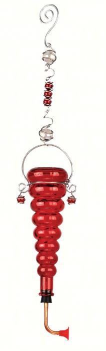 Sunset Vista Designs Hummingbird Feeder-red bottle