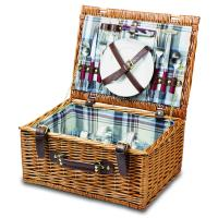 Picnic Time Bristol Two Person Willow Picnic Basket