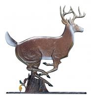 "30"" Buck Weathervane - Garden Color"