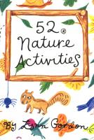 Chronicle Books 52 Nature Activities