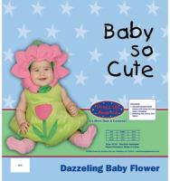 Dress Up America Dazzling Baby Flower - Size 6-12m