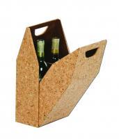 Picnic Plus Double Bottle Wine Box - Cork